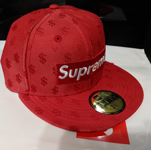 d5b14eda Supreme Accessories | Monogram Box Logo X New Era Hat Size 7 38 ...